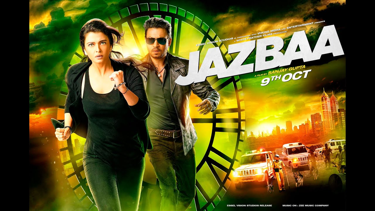 Jazbaa | Official Trailer | Irrfan Khan & Aishwarya Rai Bachchan