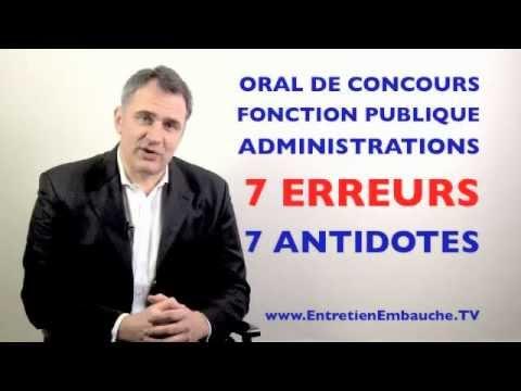 Coach pour oral de concours administratifs, fonction publique : les 7 erreurs à éviter