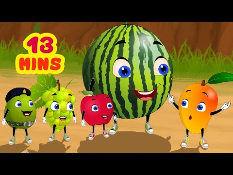 Fruits Picnic - Tina & Bana Stories | Telugu Stories for Children | Infobells