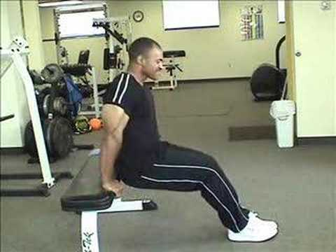 dips - Mr. America 1999 shows you the right way to blast your triceps with dips, including how to avoid common mistakes.