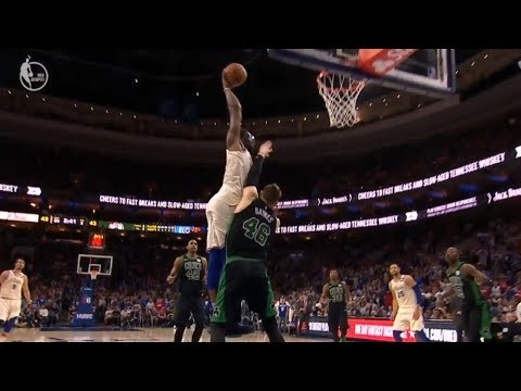 Joel Embiid Murders Aron Baynes With Dunk Of His Career!