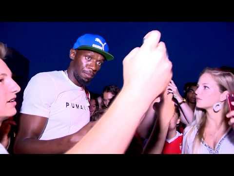 Usain Bolt pour les 30 ans d'Herculis