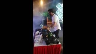 DJ Amit performig with his band (rockstarboyz) in a Corporate event For Bookings +91 9971128525
