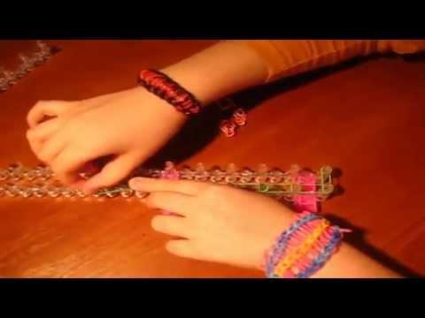 Как сделать двойные браслеты 548