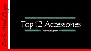 Video Top 12 Accessories for Your Laptop MP3, 3GP, MP4, WEBM, AVI, FLV Agustus 2018
