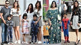 Video Bollywood Celebs With Their Kids ATTEND Shilpa Shetty's Son Viaan's Birthday Pary MP3, 3GP, MP4, WEBM, AVI, FLV Oktober 2018