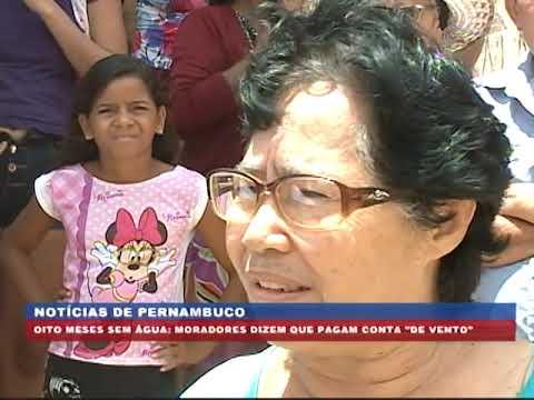 [BRASIL URGENTE PE] Moradores prejudicados por falta d'água no Alto da Bondade
