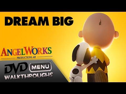 The Peanuts Movie (2015, 16) DvD Menu Walkthrough