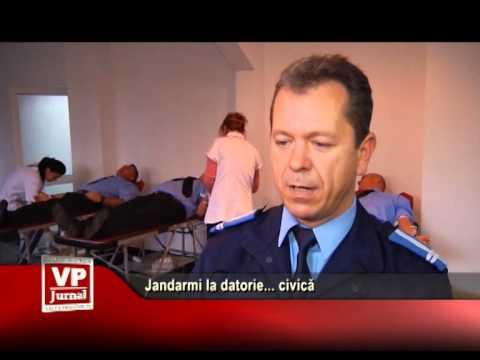 Jandarmi la datorie… civică