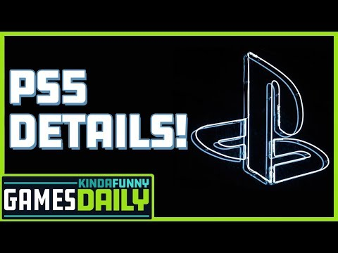 First Playstation 5 Details - Kinda Funny Games Daily 04.16.19