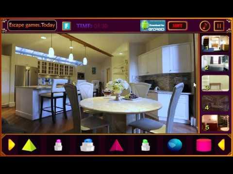 Video moderate room escape walkthrough for Minimalist house escape walkthrough