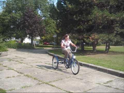 Dreirad für Erwachsene - Mobil und gesund auch im besten Alter