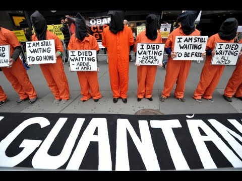 gitmo - Shocking hunger strikes by detainees at Guantanamo Bay are only getting worse, as explained in a new New York Times piece. What does President Obama think ab...