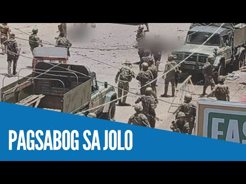 WATCH: 11 patay, 24 sugatan sa twin bombing sa Jolo, Sulu