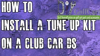4. Club Car DS Tune Up Kit | Starter/Drive Belt | How to Install on Golf Cart