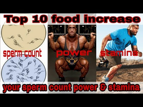 Video Top 10 food increase your sperm count power and stamina download in MP3, 3GP, MP4, WEBM, AVI, FLV January 2017