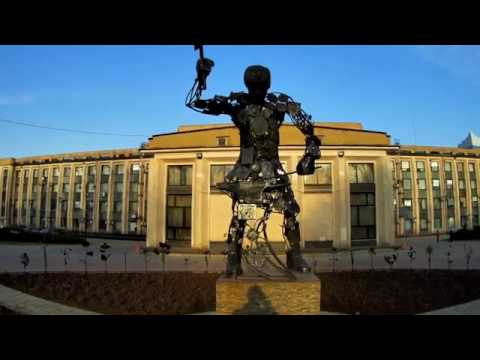 Парк кованых фигур в Донецке 2018