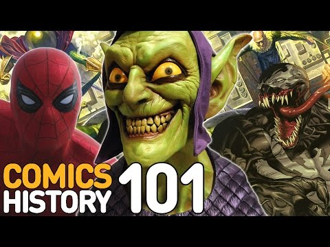 Comics - Comics History 101: Here's everything you need to know about Spider-Man's ultimate foes who are getting their own movie -- the Sinister Six!