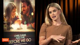 Exclusive Interview: Alice Eve Talks Before We Go [HD]