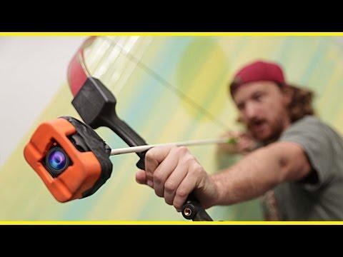GoPro on an Arrow! (видео)