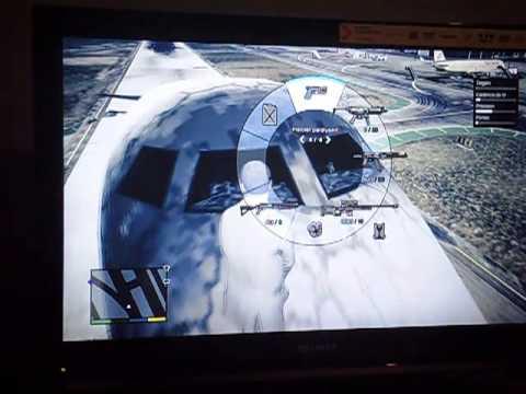comment monter dans un avion gta 5