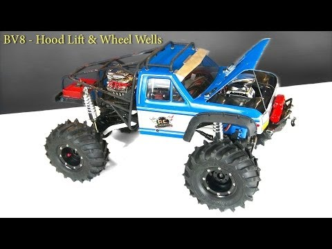 RC - http://www.RCSparks.com - Time to show off a cool technique that is CHEAP - and EVERYONE CAN DO iT! GORiLLA TAPE Wheel Wells! This stuff cost me about 8-9 bu...