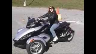 8. 2008 Can Am Spyder SE5 Test Ride