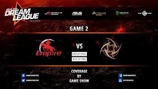 Empire vs NIP, game 2