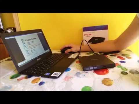 AGPTek OD01- Unità Portabile Esterno USB 2.0 DVD CD-ROM Amazon recensione review