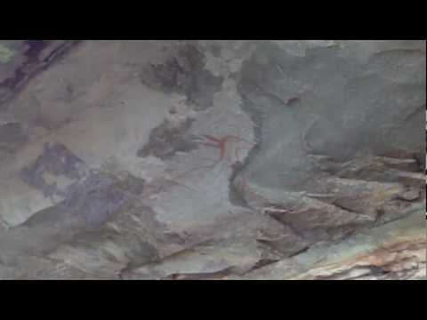 Pintura Rupestre em Diamantina-MG (1)