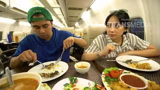 Video JANJI SUCI - Makan Makanan Enak Di Pesawat (26/8/18) Part 3 MP3, 3GP, MP4, WEBM, AVI, FLV Maret 2019