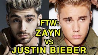 Video For The Win: Zayn vs Justin Bieber download in MP3, 3GP, MP4, WEBM, AVI, FLV Februari 2017