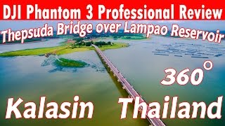 Kalasin Thailand  city pictures gallery : Thepsuda Bridge Kalasin Thailand DJI Phantom3 Professional