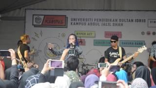 polaroid - sakura band live HD @ jelajah kampus UPSI