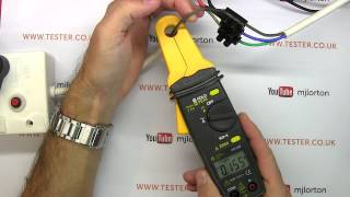 How to use a clamp meter / current clamp