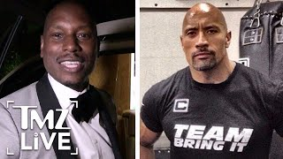 Nonton The Rock   Tyrese   The Fast   Furious  Feud Continues   Tmz Live Film Subtitle Indonesia Streaming Movie Download