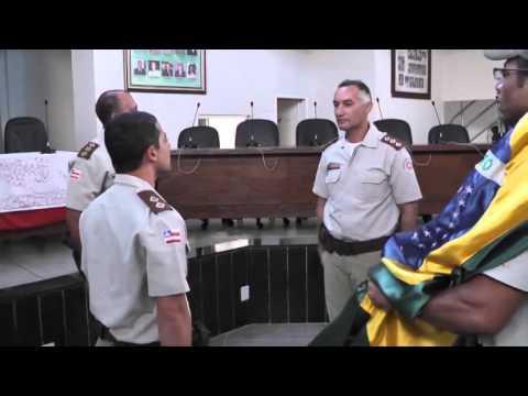 PM de Araci troca de comando - 12/07/2013