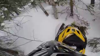 8. ski doo tundra 550f hill climb