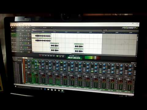 How to mixdown a track using recording software