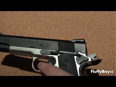 SOCOM Gear Two Tone Novak NeXt 1911 Airsoft Gas  Pistol Review
