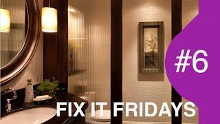 BEST Bathroom Makeover | Interior Design | Fix It Fridays #6