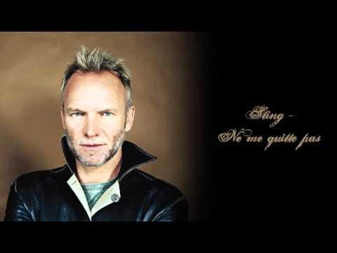 Sting - Ne me quitte pas lyrics