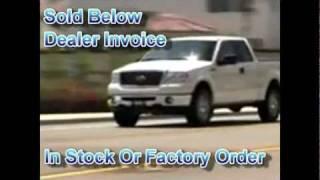 2011 Ford F150 Trucks Below Dealer Invoice Price In CT NY MA RI NJ