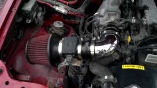 Cold Air Intake on a 2000 chevy tracker or vitara.I did notice a bit more power, but i havn't had it dyno'ed yet.fuel mileage stayed about the same, maybe a little more then the usual