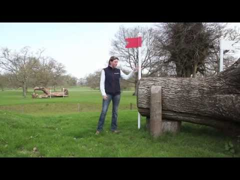 Piggy French: 'Now you know you're at Badminton' [COURSEWALK VIDEO]