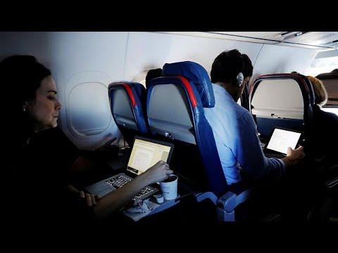 Ήρθη η απαγόρευση των λάπτοπ στις πτήσεις προς ΗΠΑ