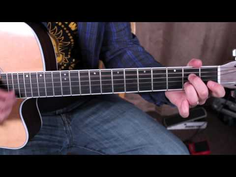 Elvis Presley – That\'s Alright Mama – Easy Acoustic Blues | Riff Channel