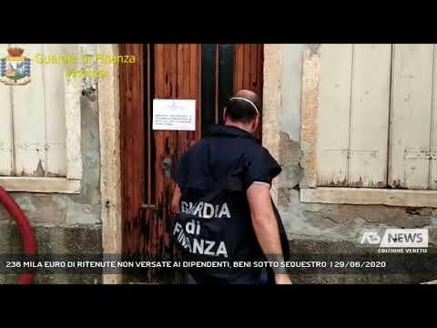 236 MILA EURO DI RITENUTE NON VERSATE AI DIPENDENTI, BENI SOTTO SEQUESTRO  | 29/06/2020