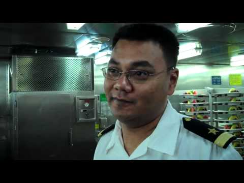 Carnival Fascination Galley Tour