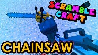 LUCKY CHAINSAW MADNESS!? - Scramble Craft (Minecraft)